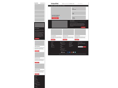 Mobile &  Desktop Layout web design desktop ui mobile ui