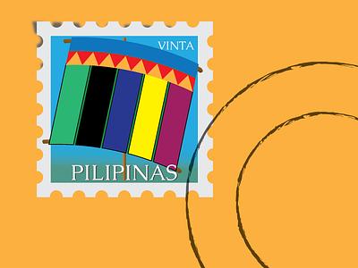 Philippine VInta stamp weeklywarmup
