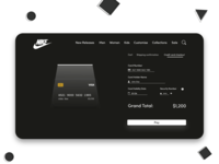 Credit Card Checkout - Daily UI Challenge 002