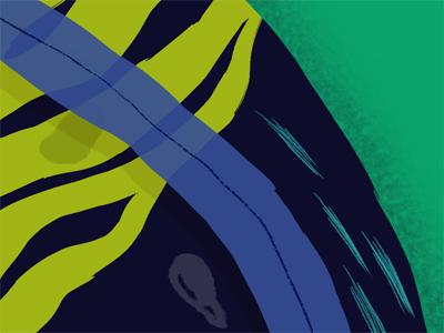 Fantasy Fern fern textures blues