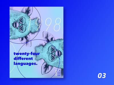 90s boy | 03 typography print poster