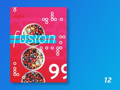 90s boy | 12 typography print poster