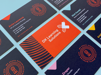 DX Learning Business Cards