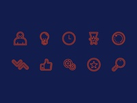 DX Learning Icons
