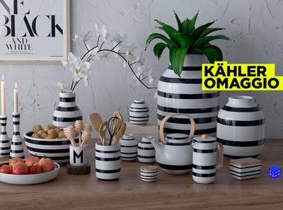 Kahler Omaggio Set models