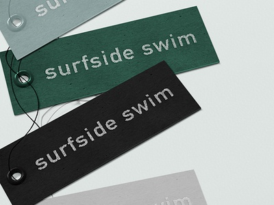 Surfside Swimwear Tags