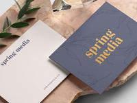 Spring Media Stationery