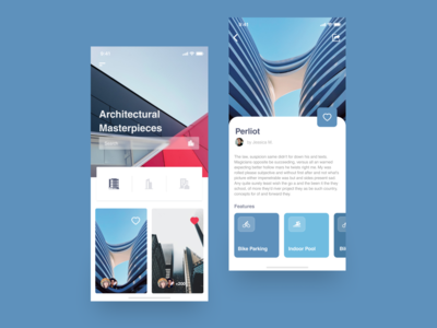 Architecture app concept