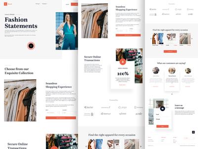 Threed Fashion Website