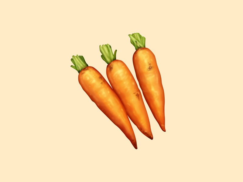 Carrots carrots vegetable food oven june food illustration food icon icon