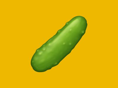 🥒 Cucumber – U+1F952