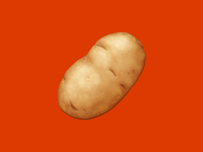 🥔 Potato – U+1F954 potato starch vegetable food facebook food emoji emoji food icon food illustration icon