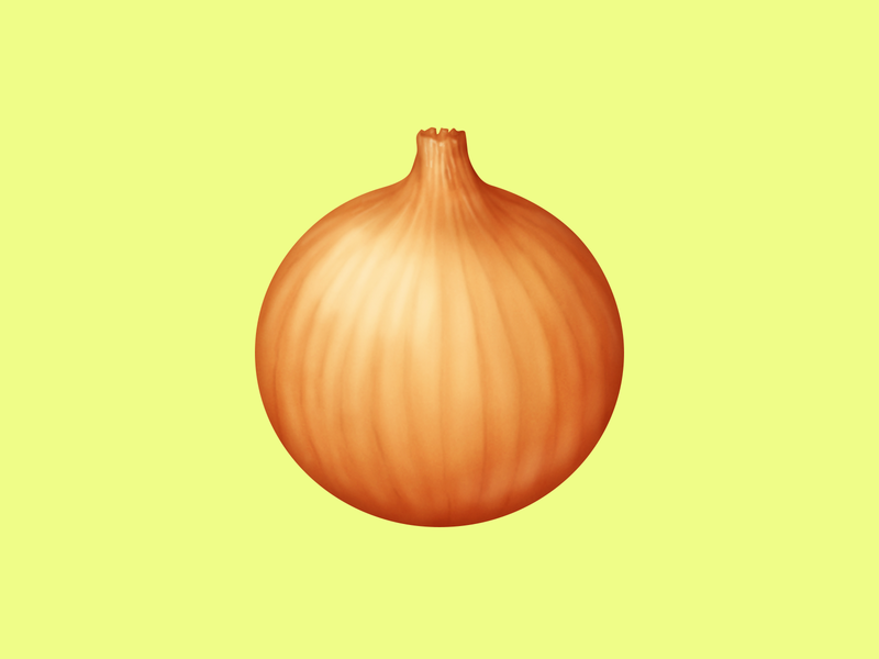 🧅 Onion – U+1F9C5 yellow onion onion food emoji emoji food icon food illustration icon
