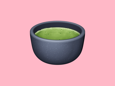 🍵 Teacup Without Handle – U+1F375 tea cup matcha green tea tea beverage food emoji emoji food icon food illustration icon