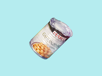 Reasons PPB Are Deploying Chemical Weapons Against Citizens, #4 acab blm protest beans garbanzo beans chickpeas food food icon food illustration metal can illustration icon