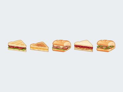 Sandwiches Emoji
