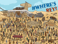 #WheresRey