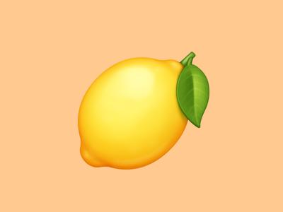🍋 Lemon – U+1F34B