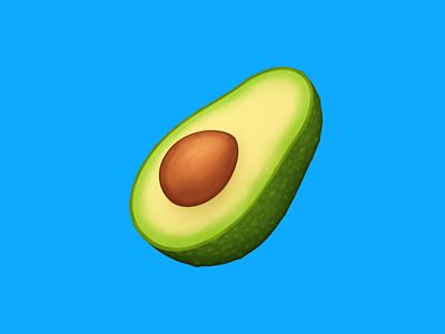 🥑 Avocado – U+1F951 avocado fruit food facebook emoji icon