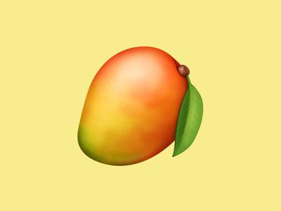 🥭 Mango – U+1F96D