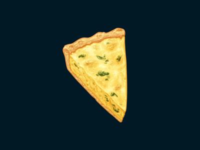 Quiche quiche egg food oven june icon
