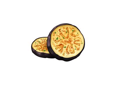 Eggplant Slices eggplant food oven june icon