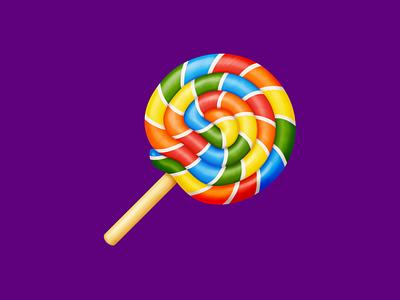 🍭 Lollipop – U+1F36D sucker lollipop sweets candy food facebook emoji icon