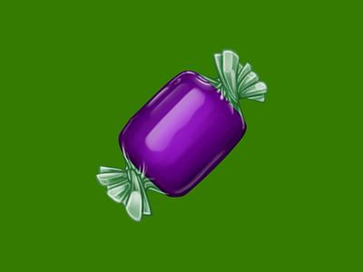🍬 Candy –  U+1F36C translucent wrapper sweets candy food facebook emoji icon