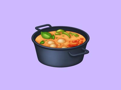 🍲 Pot of Food –  U+1F372