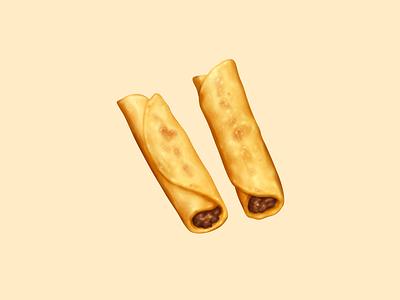Taquitos tortilla taquitos snack food oven june icon