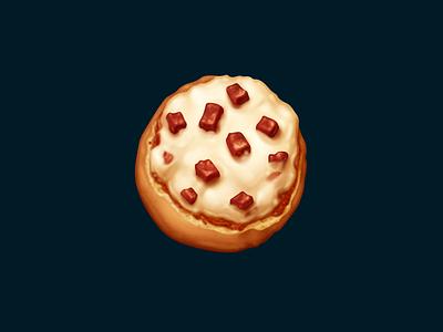 Bagel Bites pepperoni cheese bagel bites bagel snack food oven june icon