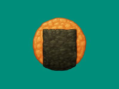 🍘 Rice Cracker – U+1F358
