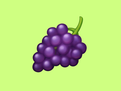 🍇 Grapes – U+1F347