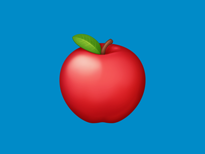 🍎 Red Apple –  U+1F34E