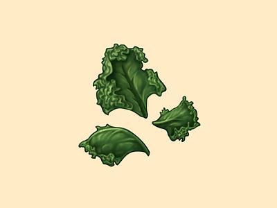 Kale Chips kale chips kale snack food oven june icon