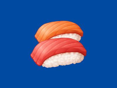 🍣 Sushi – U+1F363 seafood salmon tuna sushi fish rice food facebook emoji icon