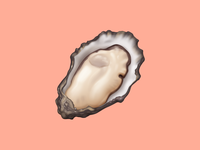 🦪 Oyster – U+1F9AA