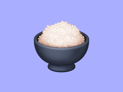 🍚 Cooked Rice – U+1F35A