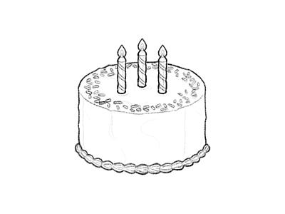 🎂 Birthday Cake – U+1F382 frosting fire candles birthday cake cake dessert food facebook food emoji emoji food illustration icon