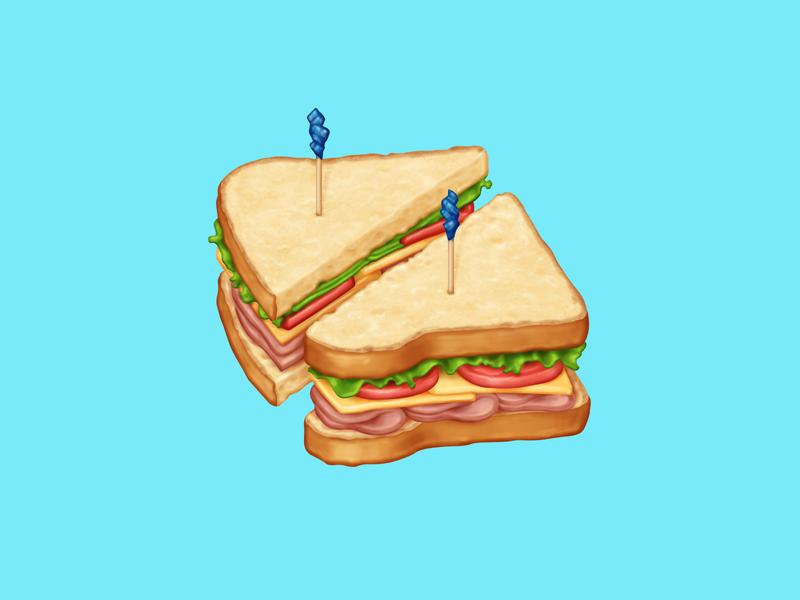 🥪 Sandwich – U+1F96A ham cheese tomato lettuce bread sandwich food facebook food emoji emoji food icon food illustration icon