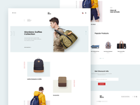 Backpack Store Site - Concept Design