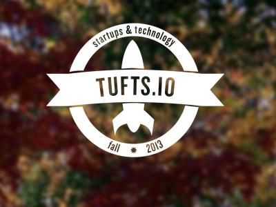 Icon + Logo for Tufts.io Class logo icon badge rocket