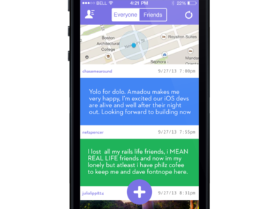 Latch Home Page, Text Only Content View ios7 text latch