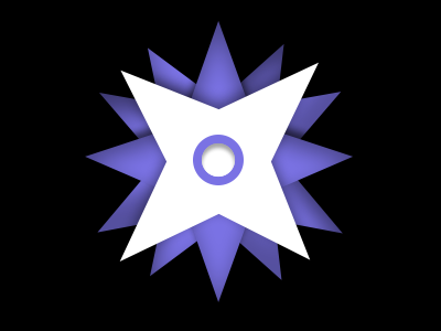 Potential Logo/Icon for Latch compass star pin location latch