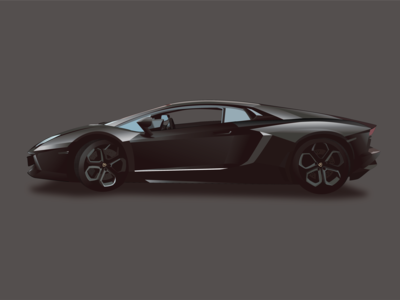 Lamborghini Aventador Car Render