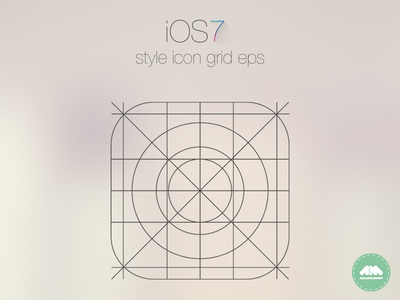 IOS7 App Icon Grid