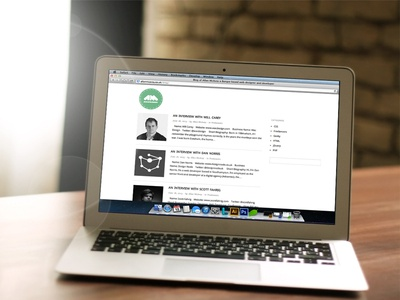 My New Blog minimalism miniamlistic simple personal clean blog website