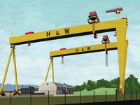 Samson & Goliath of Belfast
