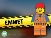 Emmet Lego Movie Free Vector