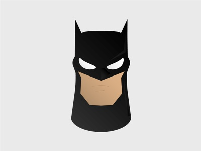Batman Avatar character cartoon illustration avatar dc comic batman